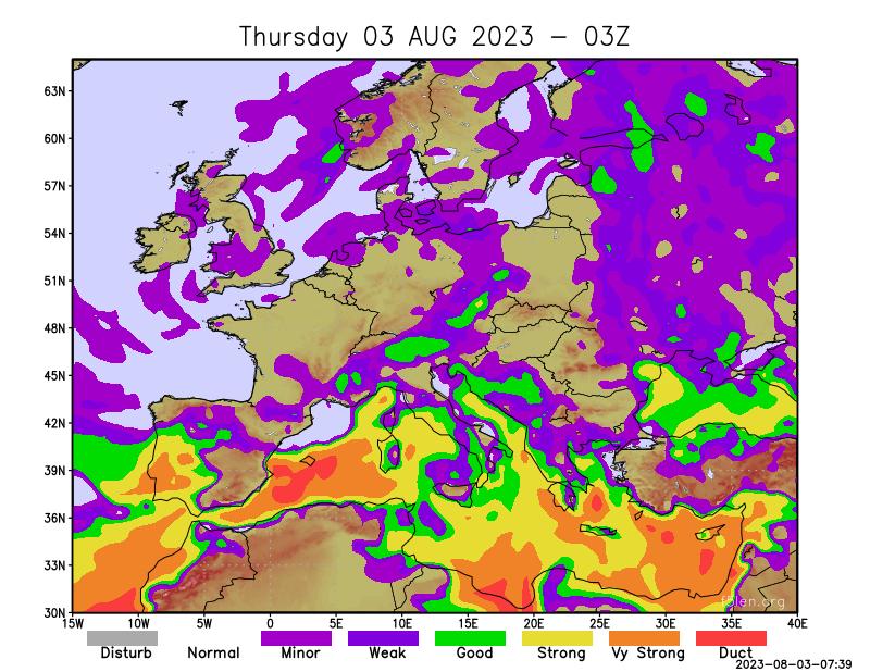 F5LEN tropo forecast